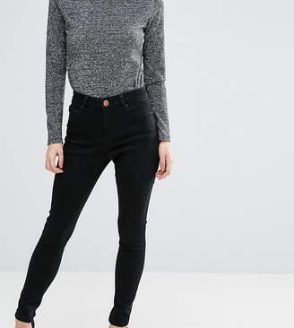 Asos 'Sculpt Me' High Rise Premium Jeans in Clean Black