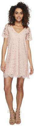 BB Dakota Trista Lace Shift Dress Women's Dress