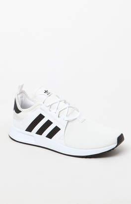 adidas X_ PLR Knit White & Black Shoes