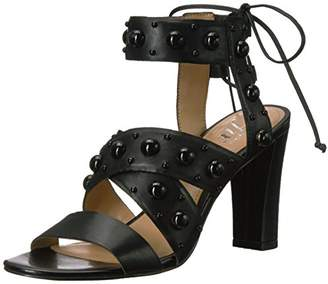 Amazon Brand - The Fix Women's Dawson Stud Heel Dress Sandal