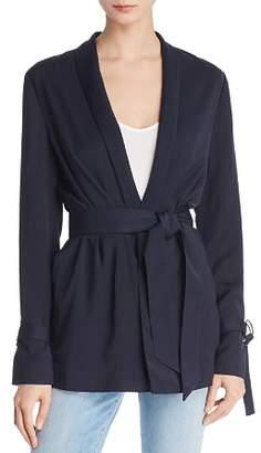 The Fifth Label Fairway Belted Shawl-Collar Blazer