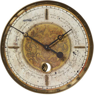 "Uttermost Leonardo Script 18"" Cream Wall Clock"