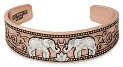 Alex and Ani Elephant Two-Tone Cuff Bracelet