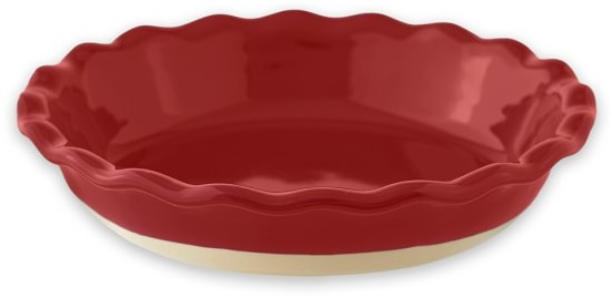 Emile Henry Burgundy Artisan Pie Dish