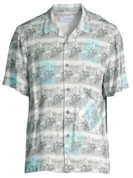 Ovadia & Sons Elvis Beach Shirt