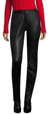Derek Lam Leather Skinny Leggings