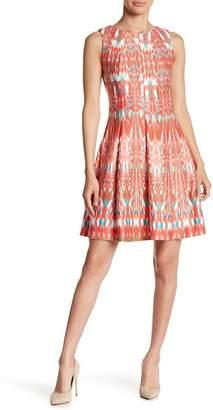 Gabby Skye Printed Scuba Dress