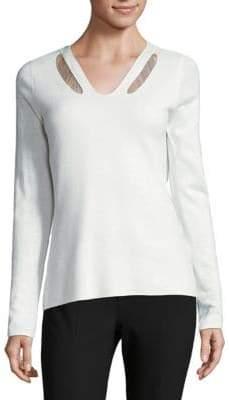 Elie Tahari V-Neck Sweater