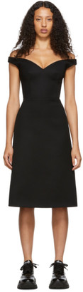 Prada Black V-Neck Dress