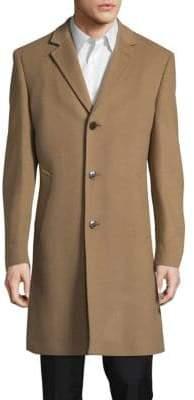 Ralph Lauren Wool-Blend Long Topcoat