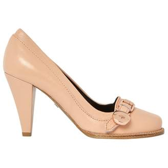 Mulberry Pink Leather Heels