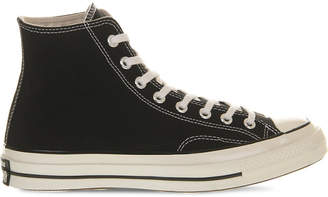 Converse canvas high-top trainers