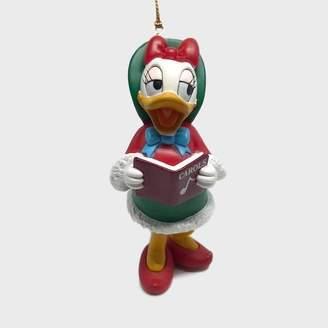 Persora - Retro Daisy Duck Festive Disney Collectible Bauble - Red/Green/White