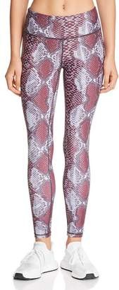 Aqua High-Rise Snake Print Leggings - 100% Exclusive