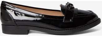 Dorothy Perkins Womens Wide Fit Black 'Lizzy' Loafers