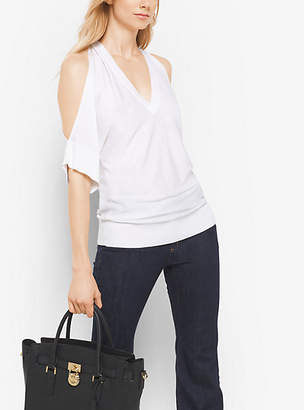 Michael Kors Peekaboo Pullover $155 thestylecure.com