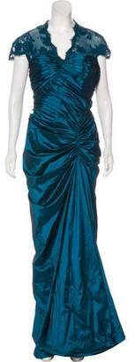 Tadashi Shoji Embellished Evening Dress w/ Tags