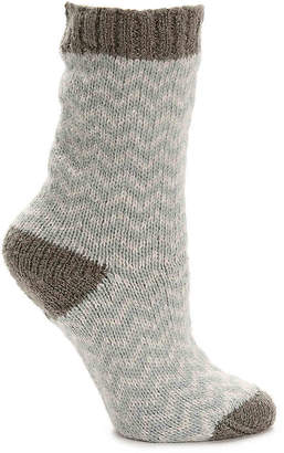 Lemon Herringbone Boot Socks - Women's