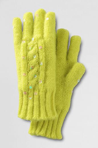 Lands' End Girls Embellished Gloves