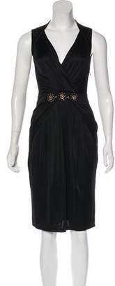 Blumarine Jersey Midi Dress