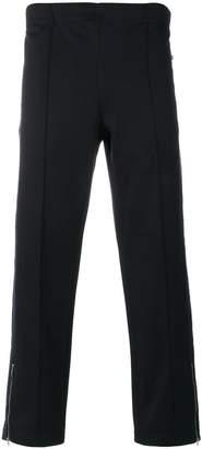 Stella McCartney side panel zip detail trousers
