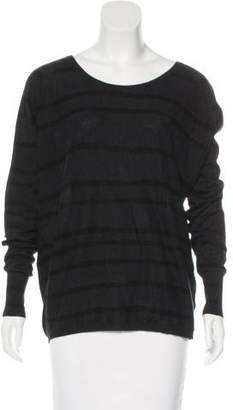 Humanoid Striped Long Sleeve Top