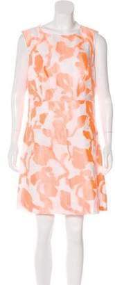 Diane von Furstenberg Patterned Carpreena Dress