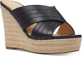 8558ece472e Nine West Platform Wedge Women s Sandals - ShopStyle