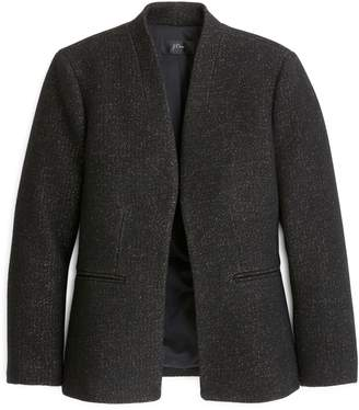 J.Crew Going Out Tinsel Tweed Blazer