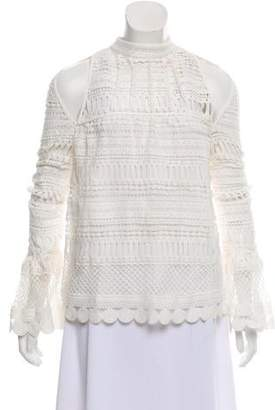 Ministry of Style Cutout Lace Top w/ Tags