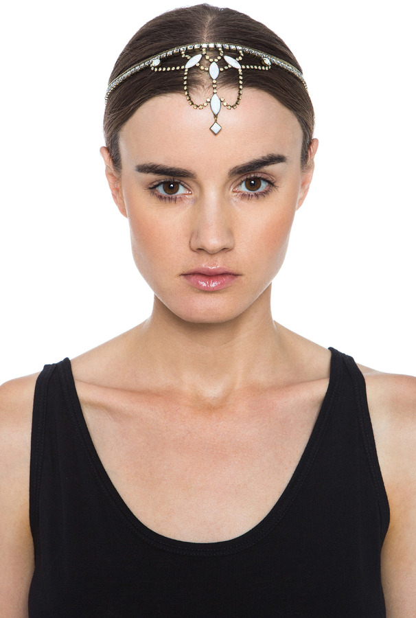 Helena Lionette by Noa Sade Lionette Hairpiece in White