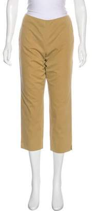 Ralph Lauren Purple Label Mid-Rise Straight-Leg Pants