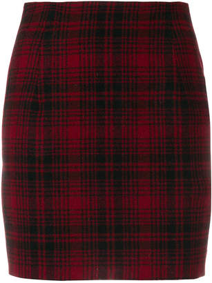 DSQUARED2 checked mini skirt