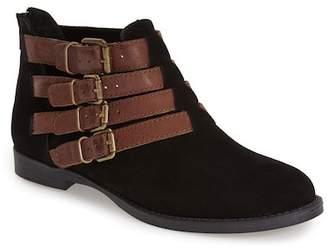 Bella Vita Ronan Buckle Leather Bootie