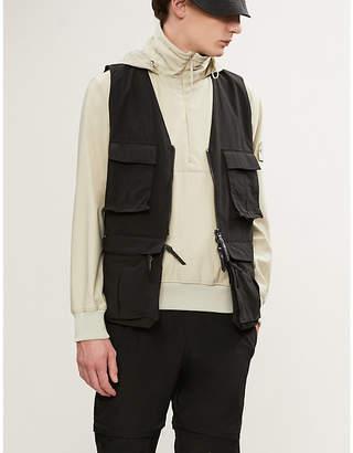 Stone Island Half-zip shell jacket