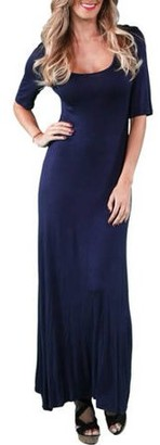 24/7 Comfort Apparel Women's Long Maxi Dress