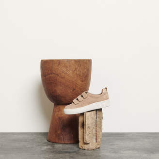 Sandro Leather Velcro Sneakers