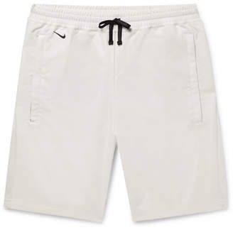 Nike AAE 2.0 Shell and Cotton-Blend Jersey Shorts - Off-white