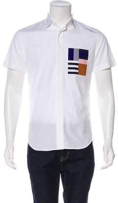 Christian Dior Printed Button-Up Shirt