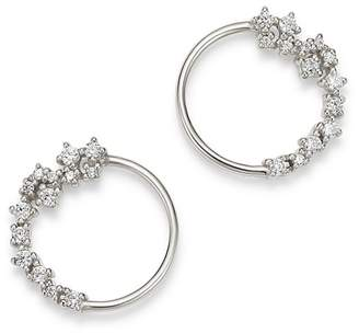 Bloomingdale's Diamond Circle Earrings in 14K White Gold, 0.33 ct. t.w. - 100% Exclusive