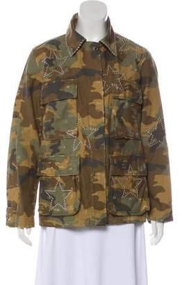 Amiri Camo Field Jacket