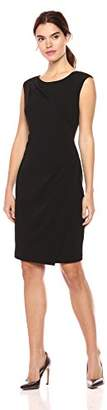 Calvin Klein Women's Cap Sleeve Dress Front Overlay