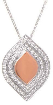 Salvini 18K Two-Tone 0.46 Ct. Tw. Diamond Necklace