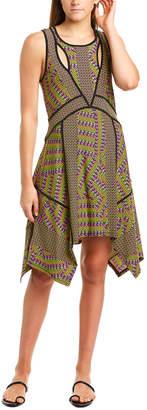 BCBGMAXAZRIA Handkerchief Hem Sundress