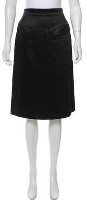 Sonia Rykiel Knee-Length A-Line Skirt Black Knee-Length A-Line Skirt