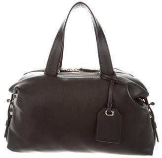 Reed Krakoff Leather Top Handle Bag Black Leather Top Handle Bag