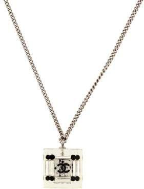 Chanel Dice Pendant Necklace