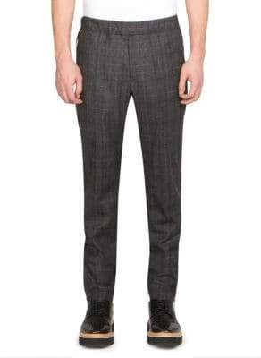 Stella McCartney Plaid Slim-Fit Trousers