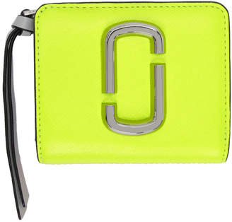 Marc Jacobs Yellow Mini Compact Wallet