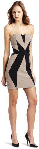 aryn K Women's Colorblock Tube Dress